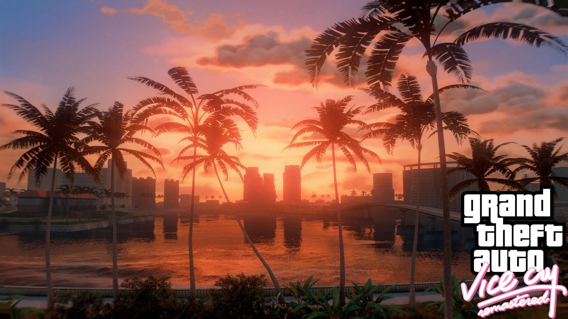 Появился фанатский ремастер GTA Vice City для GTA 5