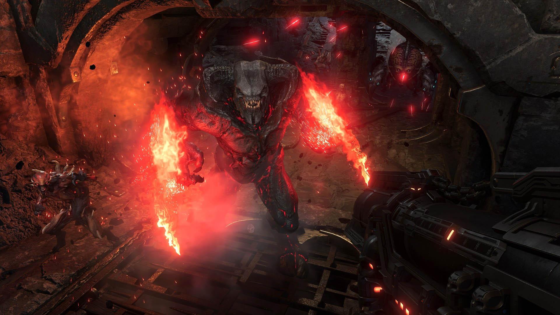 Игрок сравнил графику Doom Eternal наXbox One XиPC