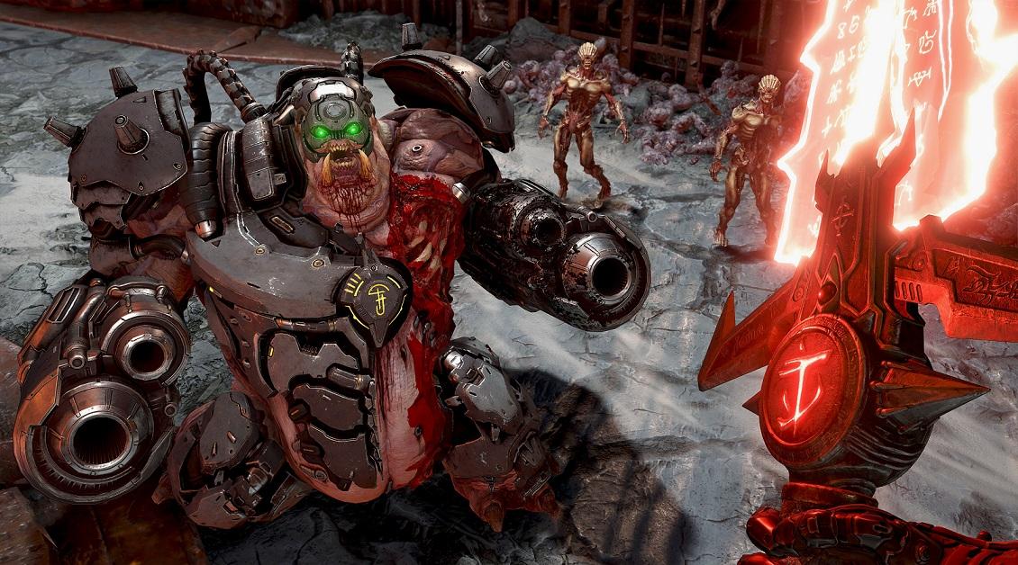 Критики игеймеры оценили Doom Eternal