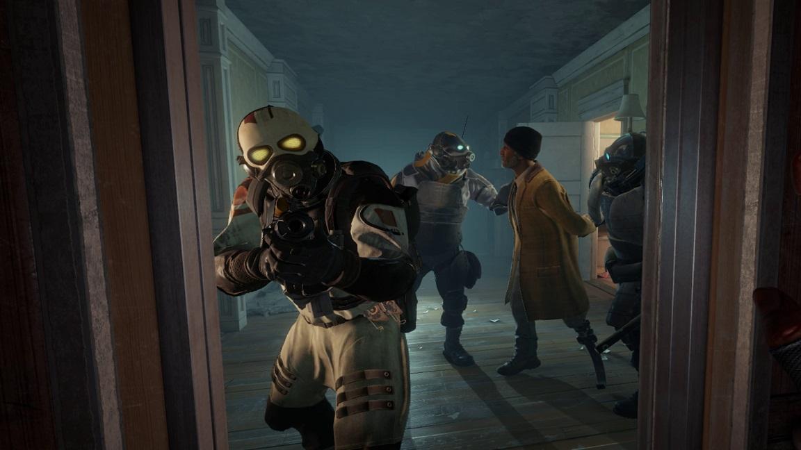 Сотрудник Valve высказался овозможности играть вHalf-Life: Alyx  без VR