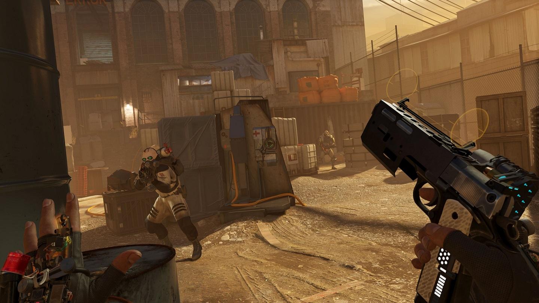 Вышло несколько геймплейных роликов Half-Life: Alyx
