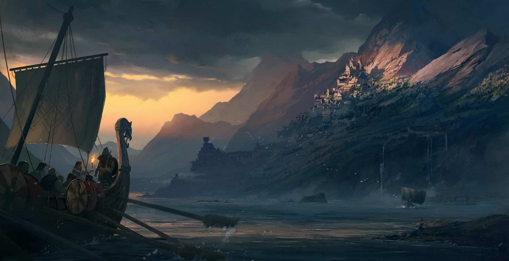 Открытый мир вAssassin's Creed Valhalla поплощади больше чем вGTA 5 иSkyrim вместе взятых