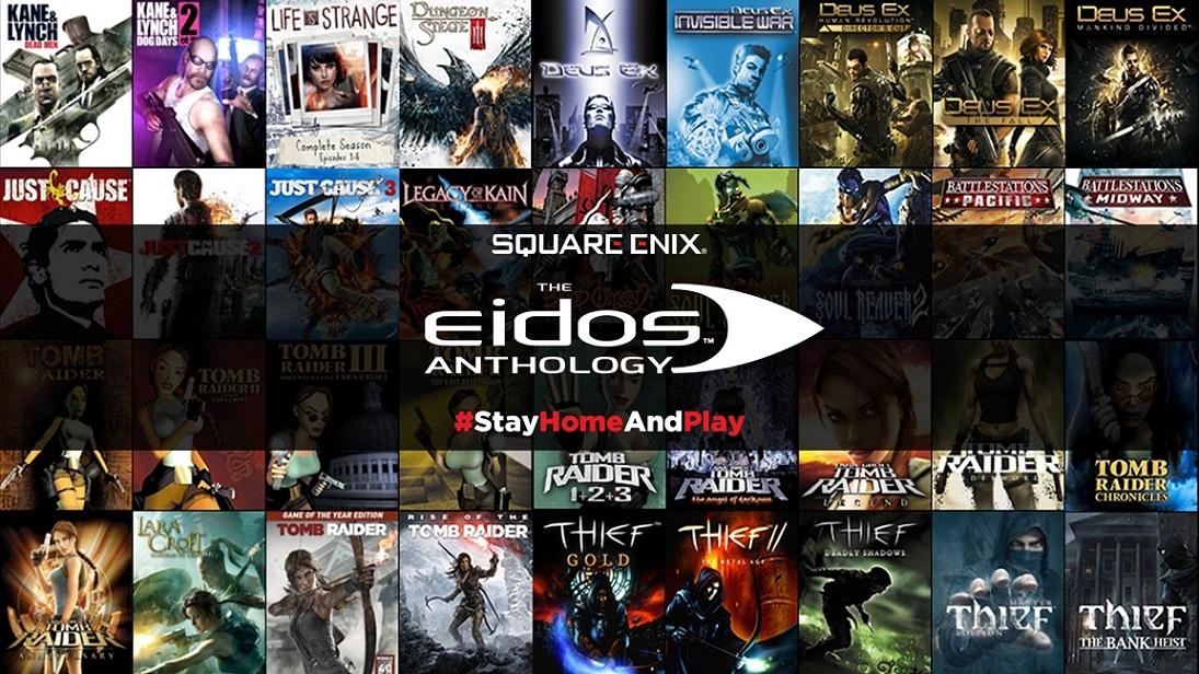 Получите сборник 54 игр отSquare Enix соскидкой 95%