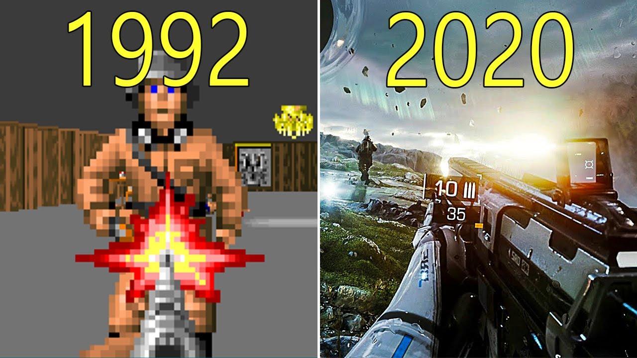 Появился ролик отом, как менялась графика вигровой индустрии напримере культовых игр