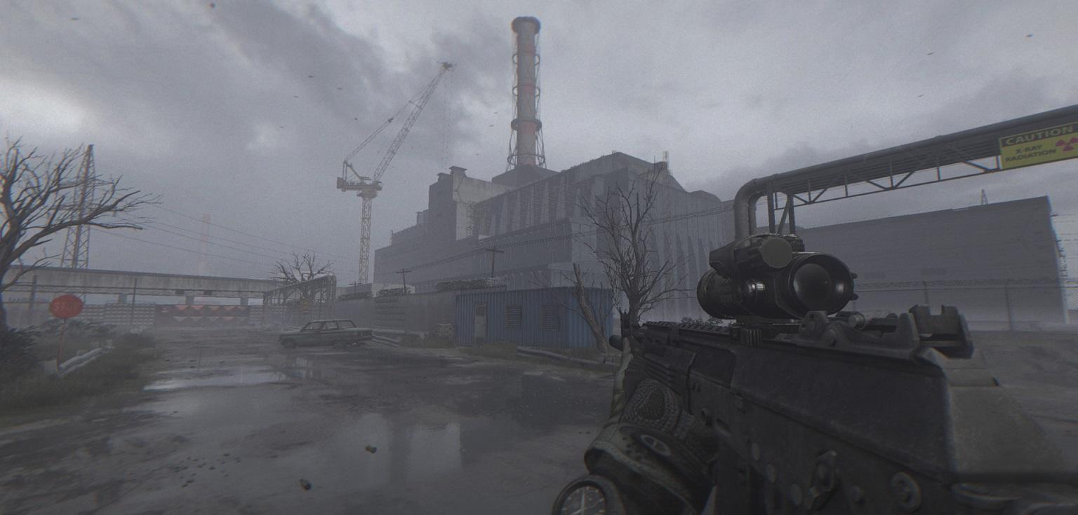 Разработчик ремейка S.T.A.L.K.E.R. надвижке Unreal Engine 4 показал локации Припяти исистему прицеливания